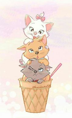 Ideas for Wallpaper Iphone Disney Aristocats Gatos Disney, Disney Cats, Disney Cartoons, Disney Phone Wallpaper, Wallpaper Iphone Cute, Trendy Wallpaper, Cute Disney Drawings, Cute Drawings, Disney Aristocats