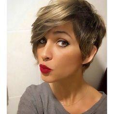 Kurz und elegant! Schau Dir diese 15 trendigen Kurzhaarschnitte für Frauen mit verfeinertem Geschmack an! - Neue Frisur