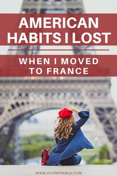 The best antidote for someone who's stuck in their ways is to move abroad to a place like France. You'll realize your habits aren't part of your DNA and you're more flexible than you thought. I've been living abroad in France since 2012 and have learned that American culture and French culture are compatible if you keep an open mind. Here are my top American habits I lost when I moved to France. Credit: Shutterstock.com/Ekaterina Pokrovsky Paris Travel, Travel Usa, Travel Inspiration, Travel Ideas, Travel Tips, French Lifestyle, Living In Europe, Moving To Paris, Visit France