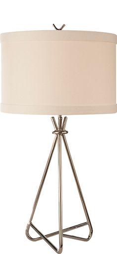 "DIANA SMALL TABLE LAMP 21""H x 12"" Diameter"
