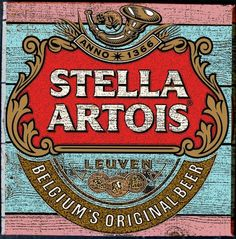 Vintage Labels, Vintage Ads, Vintage Posters, Stella Artois, Sous Bock, Beer Mats, Beers Of The World, Beer Company, Beer Coasters