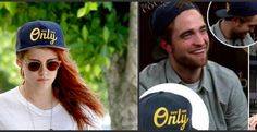 "Sharing Rob's ""Only"" baseball cap. Kristen wearing his baseball cap in L.A. on June 15, 2014."