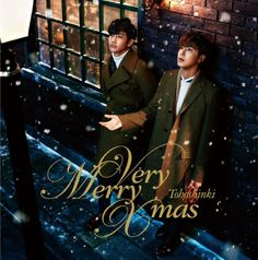 TVXQ - Very Merry Xmas (SINGLE+DVD)(First Press Limited Edition)(Japan Version)