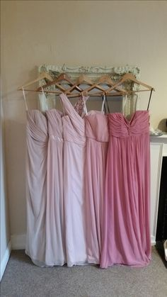 This is Palomino, Cameo, Blush, Rose and Carnation. Read more: http://boards.weddingbee.com/topic/advise-on-dessy-group-bridesmaid-dresses/#ixzz3M0A7oDbW