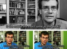 John green, he's so funny..... except when he writes, then he gets a little mean