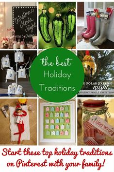 Bring on the fun holiday traditions! It is November and the holidays are starting to become a bit more on our minds and creeping their way onto our to-do lists. I was thinking of what I want to accomplish most this holiday season and I kept coming back to family. I want my kids to …