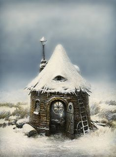 Fairy tale house in winter time   Flickr - Fotosharing!