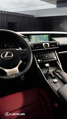 Name your destination. The Lexus Enform App Suite will do the rest. The 2018 #LexusIS F SPORT. Click to learn more.