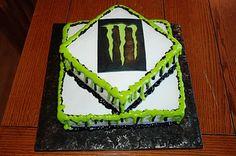 Zoey's Delights: Monster Energy Drink Cake