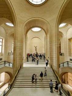 Winged Victory of Samothrace (early 2nd century BC), Louvre. Cr: the art daily with Lydia