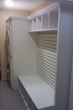 "Find out additional details on ""laundry room storage diy budget""x. Browse through our web site. Laundry Room Remodel, Laundry Room Organization, Laundry Room Design, Laundry Storage, Laundry Rooms, Garage Laundry, Laundry Decor, Laundry Basket, Stackable Washer And Dryer"