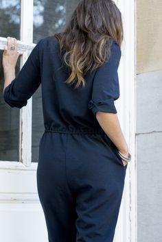 Jumpsuit by La Maison Victor.  More DIY fashion inspiration: www.lamaisonvictor.com