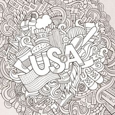 USA scribbles