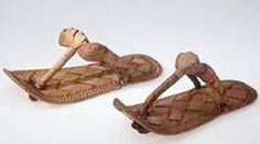 Ancient Egyptian Fabrics and Clothing - Beautiful woven ancient Egyptian sandals
