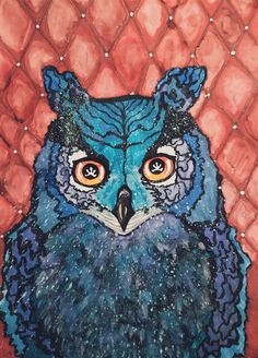 Owl art bird