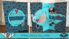 Pop Post Spiral Circle Pull Card