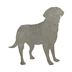 Dog metal sign from IdeaVintage