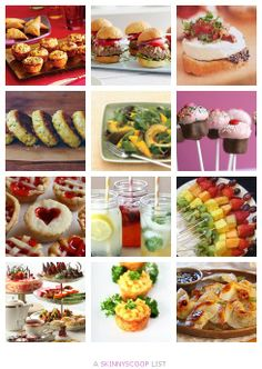 Bridal and Baby Shower Food Ideas