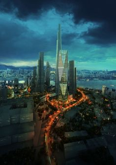Diagonal Tower - Seoul, South Korea