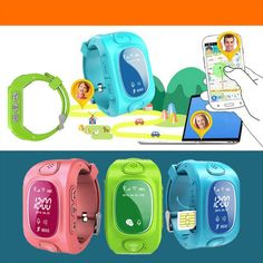 Y3 Smart Kids GPS Watch with Calling/GPS/GSM/Wifi