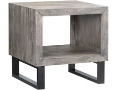 Loving this simple, modern accent table.