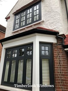 Heritage windows and doors, hand-built in uPVC. Timberlook flush sash windows have traditional features & period character, perfect for conservation areas. Sash Windows, Casement Windows, House Windows, House Extension Design, House Design, 1930s House Exterior, Home Exterior Makeover, House Front Door, Victorian Terrace