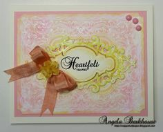New Cling Background Stamps and Becca Feeken Dies | JustRite Papercraft Inspiration Blog