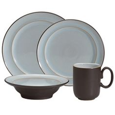@Overstock - Add a stylish flair to your table with this 16-piece dinnerware set from Denby. A stoneware construction finishes this set for four.   http://www.overstock.com/Home-Garden/Denby-Sienna-16-piece-Dinnerware-Set/6805693/product.html?CID=214117 $151.99