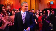 "<3<3 ""Sweet Home Chicago"" - Obama, BB King, Buddy Guy, Mick Jagger, Jeff Beck"