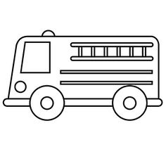 Black And White Cartoon Car Car Outline Free Download