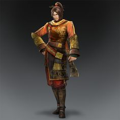 dynasty warriors 8 | ling tong