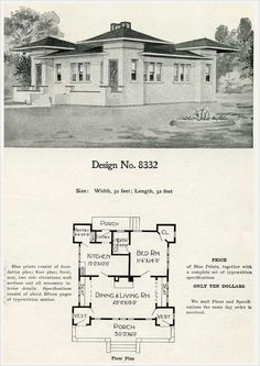 plans for 1909 Radford Cement Home