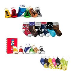 cheaper 764d0 a58f6 Baby Toddlers Socks (Cute Unique   Special Design Fake Shoes for boys)  6M-Age3