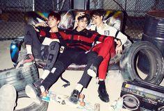 Jimin, Jungkook, and J-Hope- BTS Hormone War Concept Photos