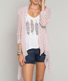 Look at this O'Neill Peony Jayleen Open Cardigan on #zulily today!