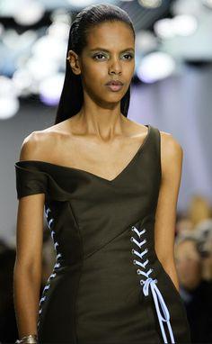 Dior - FALL 2014 RTW - Lacing