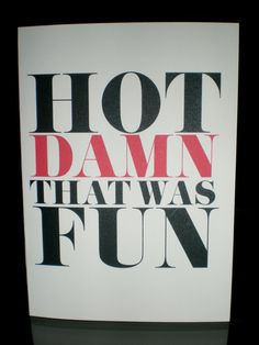 """Hot damn, that was fun!"" bachelorette party thank you cards. LittleLadyCo via Etsy. My mother always says ""hot damn!"" I think I need these in my life. Thank You Notes, Thank You Cards, Bachlorette Party, Bachelorette Parties, Bachelorette Weekend, Friend Wedding, Marry Me, Party Planning, Just In Case"
