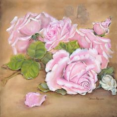 'Victorian Ruffle Roses'