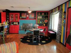 This is hysterical!  ---> 10 Properties Where the Bonkers Use of Color Reigns Supreme.
