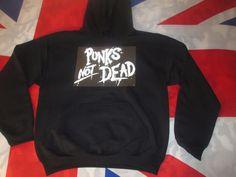 Punks Not Dead Hoody Sweatshirt