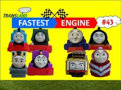 Thomas and Friends- The World's FASTEST ENGINE Competition #43