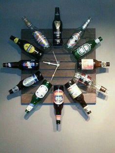 Reloj de cervezas