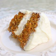 Carrot Cake for Easter - super moist and perfect! Carrot cake is definitely one of those recipes that will NOT please everyone. Everyone likes it different – nuts or no nuts, pineapple or no pineapple, raisins or no raisins.  And that is why everyone should make it the WAY they like it.  Read more at http://www.the-girl-who-ate-everything.com/2011/04/carrot-cake-for-easter.html#uTYSouSZZ2p0w6yX.99