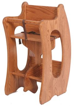 Picture of Solid Wood High Chair, Desk, and Rocking Horse Folding Furniture, Hardwood Furniture, Amish Furniture, Woodworking Furniture, Kids Furniture, Woodworking Plans, Sketchup Woodworking, Woodworking Classes, Custom Woodworking