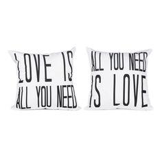 Love is All Pillow Cover Set   dotandbo.com