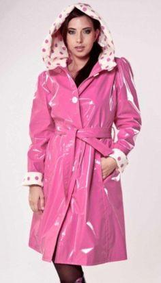 Pink PVC Raincoat ❤❤❤❤