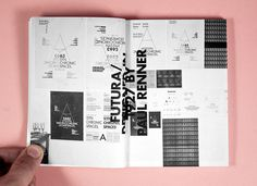Synchronic Space catalogus on Editorial Design Served