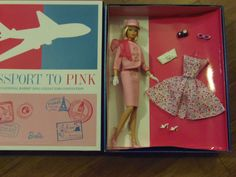 PASSPORT TO PINK - 2012 Barbie Convention Doll MINT IN BOX~~