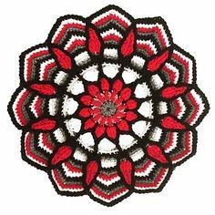 Ravelry: Potholders in Overlay crochet pattern by CAROcreated design Free Crochet Doily Patterns, Crochet Doilies, Mandala Crochet, Crochet Potholders, Design Case, Craft Organization, Decorative Accessories, Pot Holders, Overlays