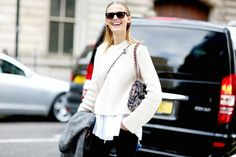 London Fashion Week  - Streetstyle From The Swinging City - Street Chic - Fashion